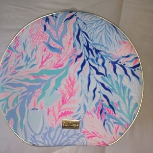 Lilly Pulitzer Round Tote Kaleidescope NWOT.